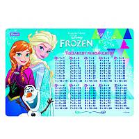 """Підкладка для столу дитяча """"Frozen"""" (табл. множення)"""