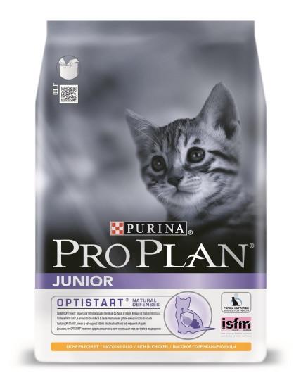 Pro Plan Junior - корм Про План для кошенят з куркою 1.5 кг