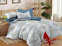 Комплект постельного белья Семейный, сатин TAG S292