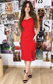 Сарафан бисер красный Viravi Wear, модель 1006