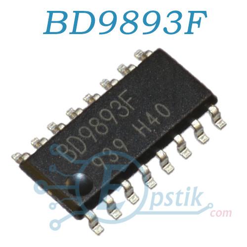 BD9893F, мікросхема управління інвертором, SOP16