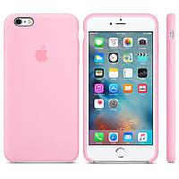 Силиконовый чехол «iPhone 6 Plus, 6S Plus» «Original Case» Чехол на айфон/ Накладка Light Pink/Нежно-розовый