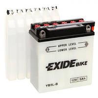 EXIDE EB5L-B / YB5L-B Мото аккумулятор 5 А/ч, 65 А, (-/+), 120х60х130 мм