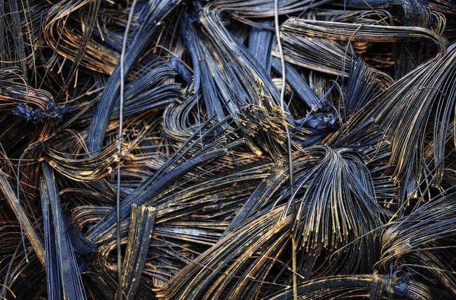 Металлокорд из покрышек, фото 2