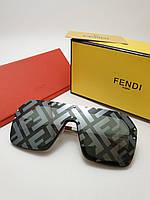 Женские солнцезащитные очки Fendi 0039 grey