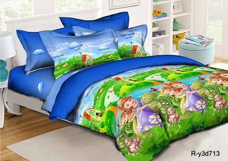 Постельное белье Волшебная страна ранфорс ТМ Комфорт текстиль в кроватку, фото 2