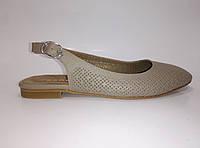 Женские кожаные босоножки ТМ Камея, фото 1