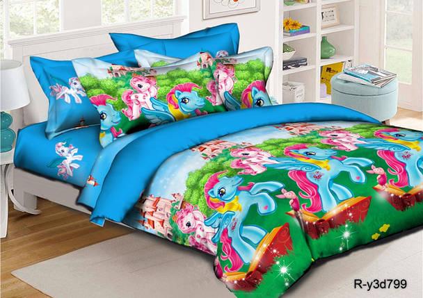 Постельное белье Понивиль ранфорс ТМ Комфорт текстиль (подростковый), фото 2