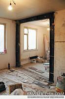 Алмазная резка проемов, ниш, стен, демонтажные работы Харьков