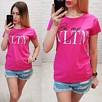 Женская футболка VLTN   р.42-46, фото 1