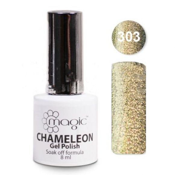 Гель-лак Magic CHAMELEON Gel Polish 8ml  № 303 Хамелеон