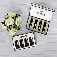 Набор губных помад Chanel 4 шт.(Реплика)