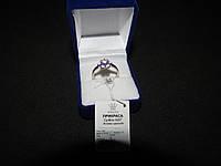 Серебряное кольцо циркон 18