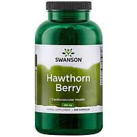 Боярышник Swanson Premium Hawthorn Berries 565 мг  250 капс.