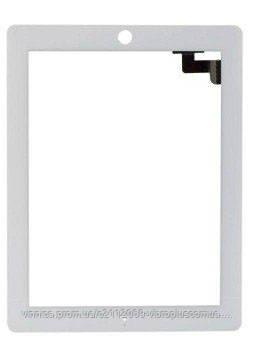 Тачскрин (сенсор) Apple  iPad 2 copy, white (белый), фото 2
