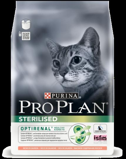 Pro Plan Sterilised Salmon - корм Пурину Про План з лососем для стерилізованих кішок 1.5 кг