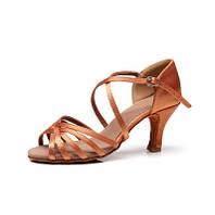 Туфли для танцев блок каблук 5 см