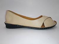 Женские кожаные мокасины, фото 1