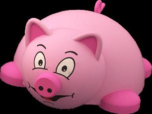 """3Д фигура """"Свинка"""""""