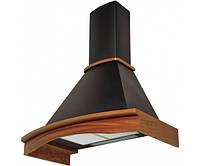 Вытяжка декоративная Pyramida R 90 black NUT