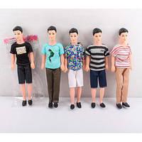 Кукла Кен 30см, 5 видов, в пак. 8*30*3см (180шт) (A007-2)
