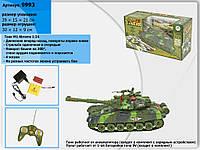 Танк р/у, аккум., 2 цвета, в кор. 38,5*21*8,5см (18 шт.)(9993)