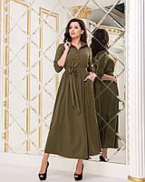 Платье хаки, арт.1020, фото 1