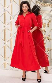 Платье красное Viravi Wear, модель 1020