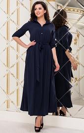 Платье темно-синее Viravi Wear, модель 1020