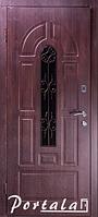 """Входная дверь для улицы """"Портала"""" (Элегант NEW Vinorit) ― модель Элегант-4, фото 1"""