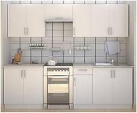 Кухня серии ЭКОНОМ - Сакура белая