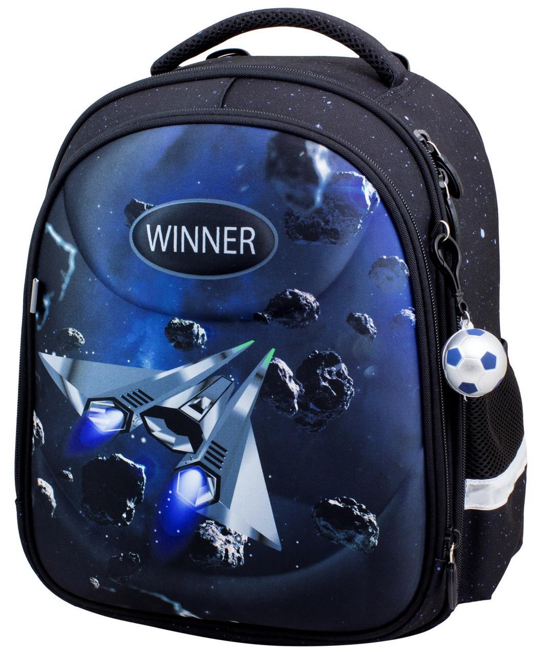 Ранец каркасный школьный для мальчиков ортопедический  Winner Stile 6007