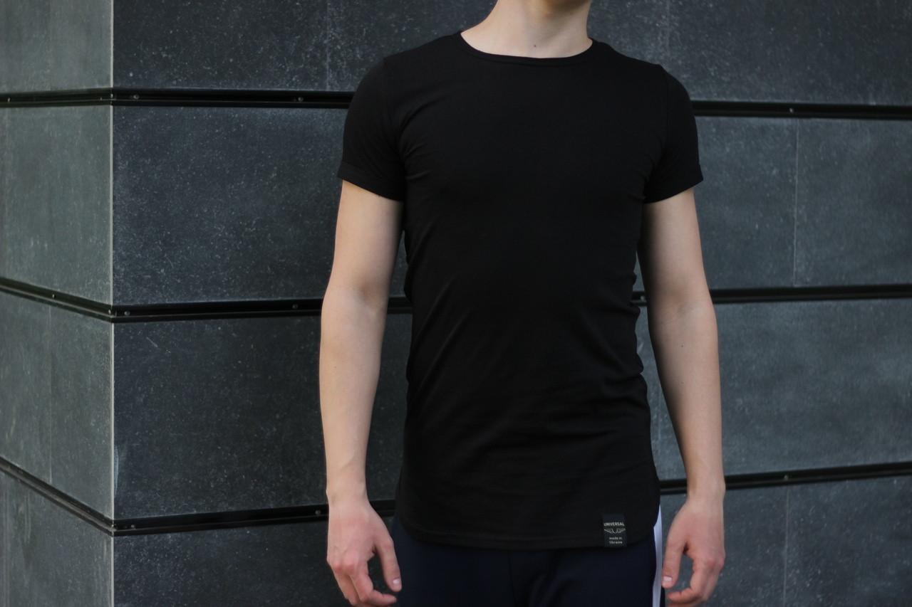 """Мужская футболка без бренда""""Black"""""""