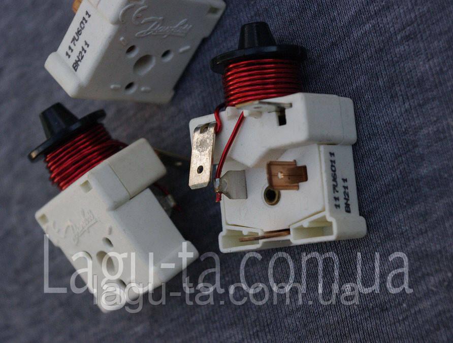 Реле пусковое компрессора Danfoss 117U6011 Оригинал.