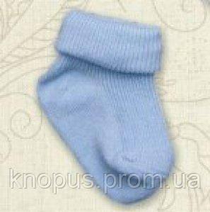 Носочки однотонные (голубые), Betis, на 3-12 мес