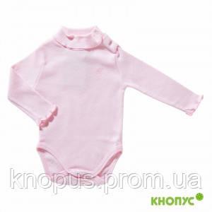 Боди-гольф утепленный (розовый), Girandola, размеры 68, 86