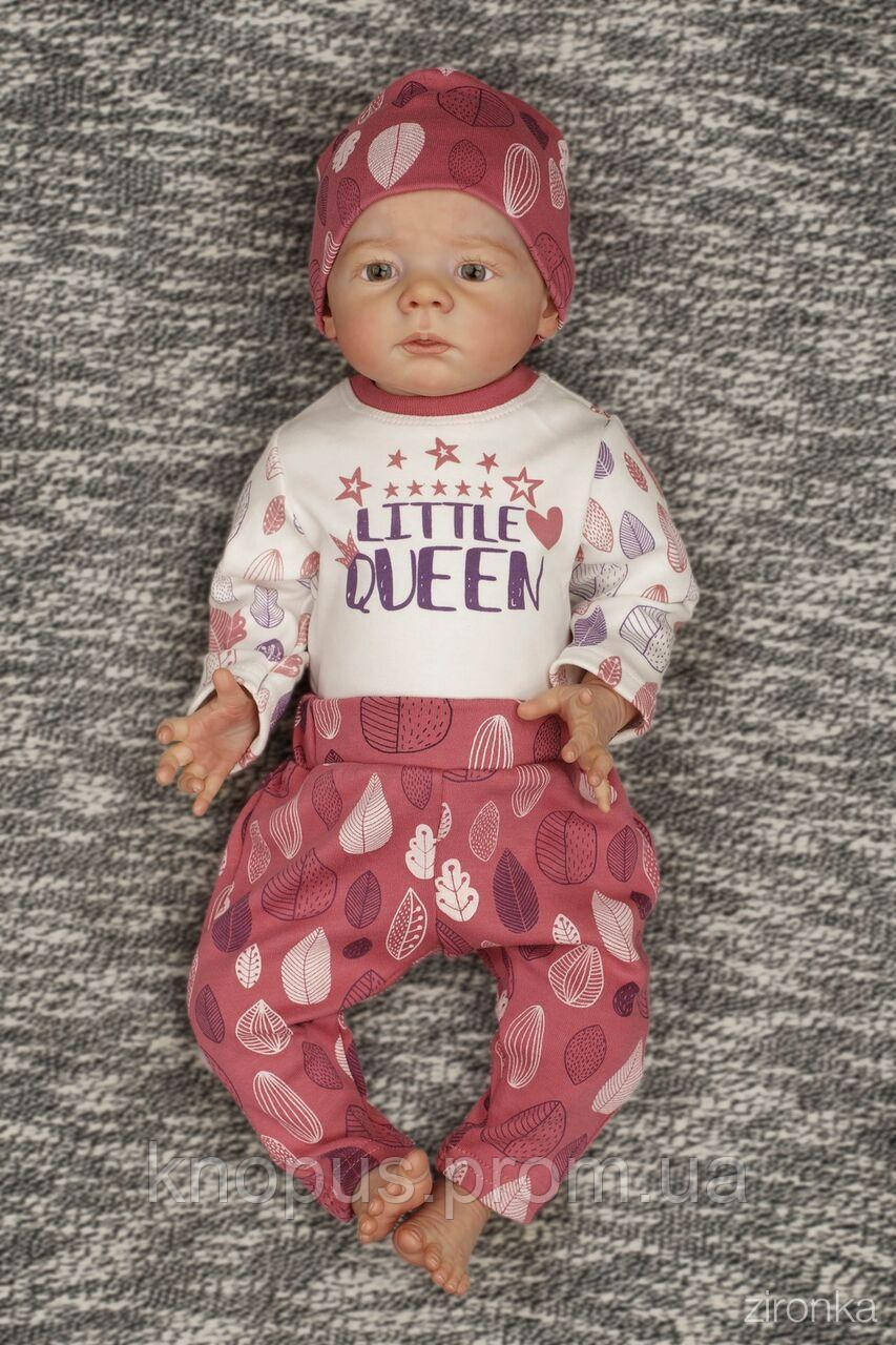 Комплект боди и штанишки для девочки, Zironka, размеры 62-86