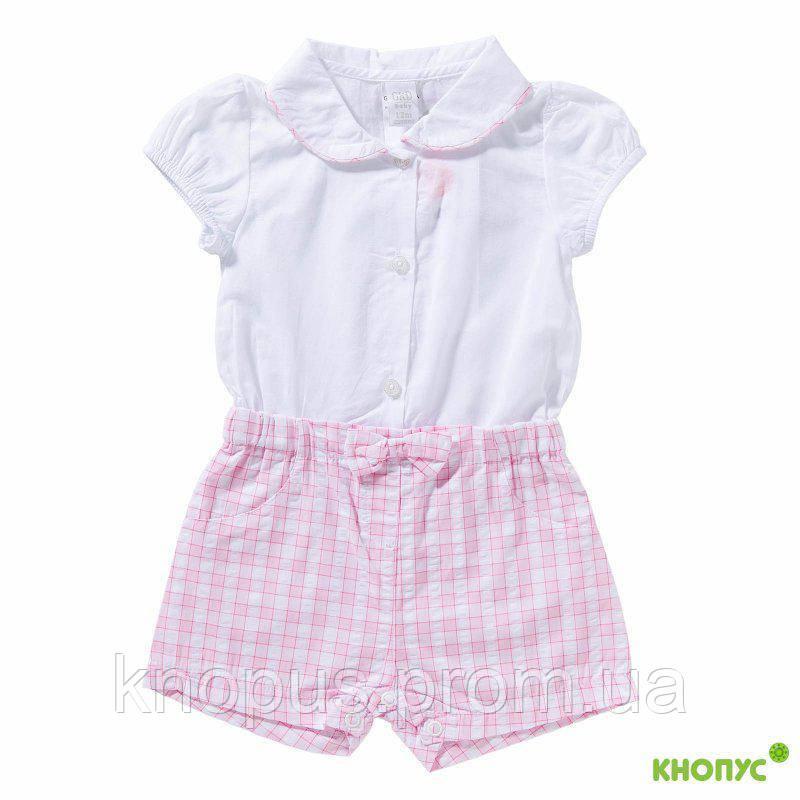 Комбинезон-шорты для девочки, Girandola, Португалия, размер 92