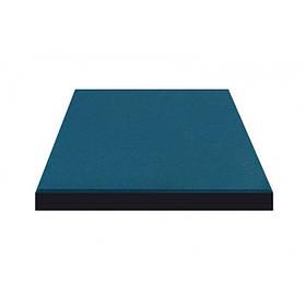 Резиновая плитка Синего цвета 15мм