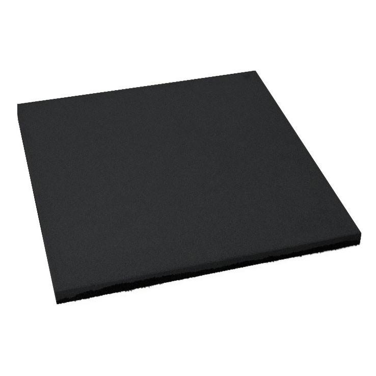 Резиновая плитка Черного цвета 15мм