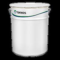 Краска однокомпонентная на водной основе TEKNOCOAT AQUA 2550-02 (белая, полуматовая)