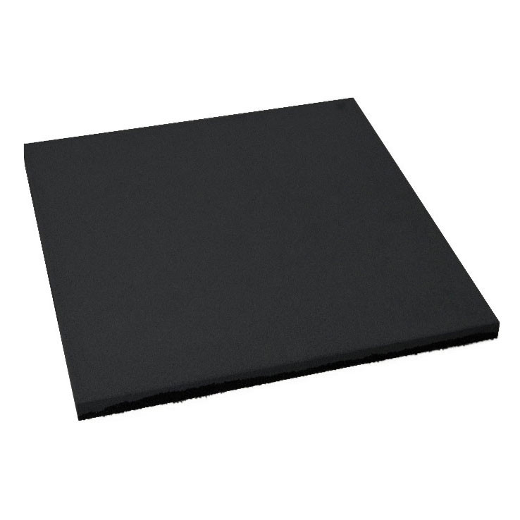 Резиновая плитка Черного цвета 20мм