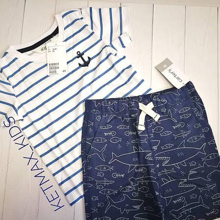 Трикотажные шорты Carter's для мальчика, фото 2