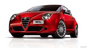 Накладки на пороги Alfa Romeo Mito (2008+)
