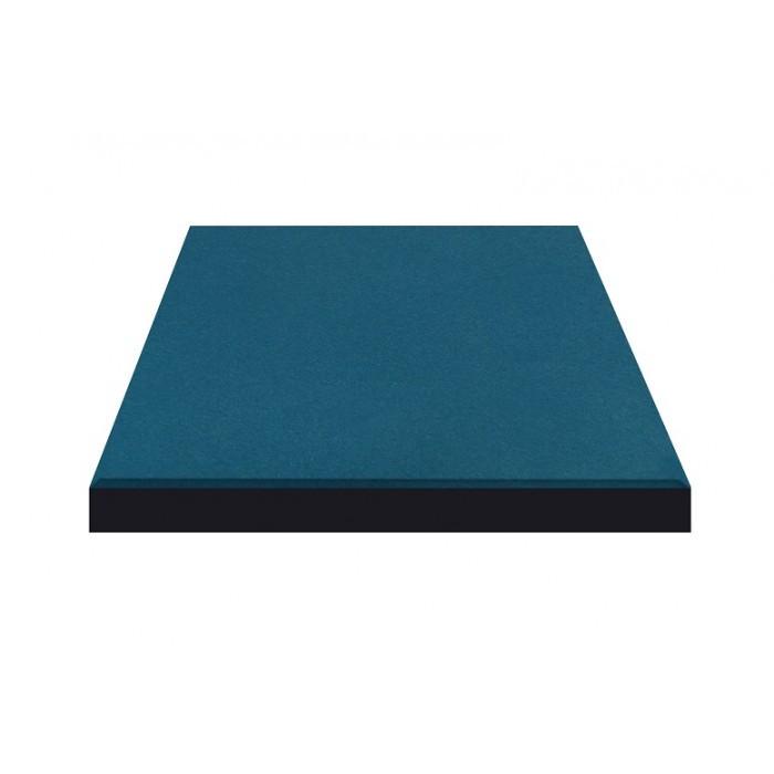 Резиновая плитка Синего цвета 25мм