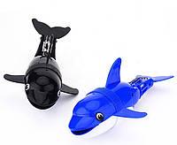 Игрушка для бассейна или ванной - Дельфин-акробат чорный