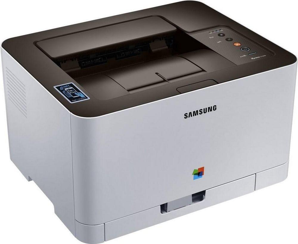 Цветной лазерный принтер Samsung Xpress SL-C430W with Wi-Fi (SS230M) + USB cable, фото 1