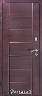 """Входная стальная дверь для улицы """"Портала"""" (Элит Vinorit) ― модель Токио, фото 1"""