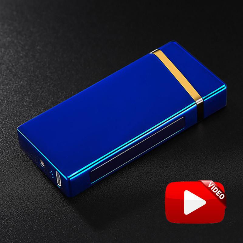 Электроимпульсная USB зажигалка Elegant blue 064_3