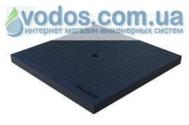 Крышка пластиковая (черная) PolyMax Basic 280 * 280 для дождеприемников